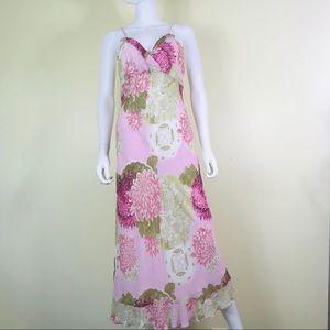 Tessuto Floral Spaghetti Strap Dress